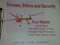 Panel on Drones - Peace Festival
